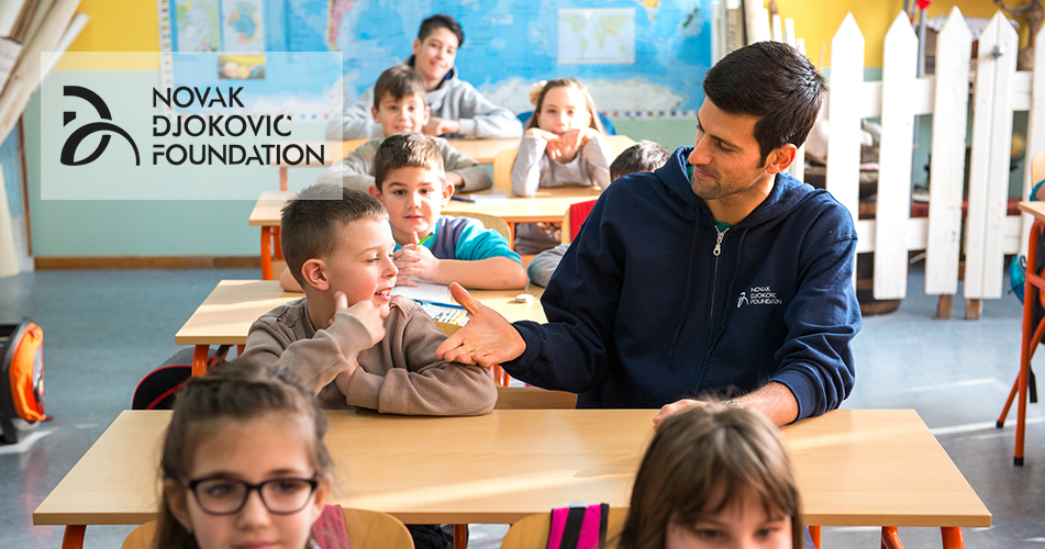 Philanthropy In Action Novak Djokovic Foundation And Withersworldwide